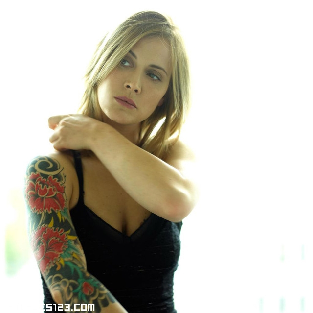 foto chica sexy color gratis:
