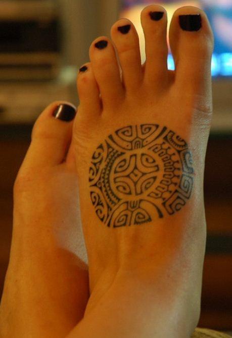 Tatuarse los pies