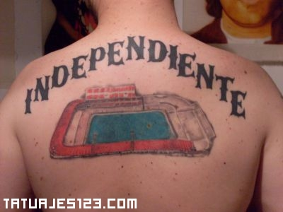 Tatuaje de Independiente