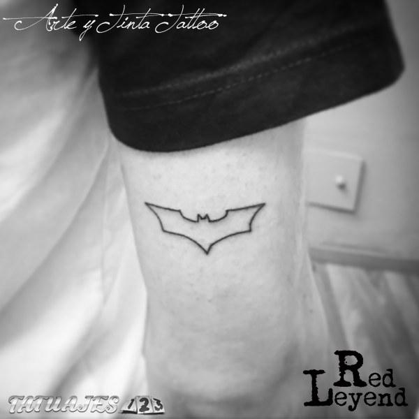 Batman realizado por Red Leyend Tattoo