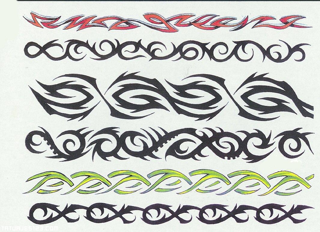 Dise&241os De Brazaletes  Tatuajes 123