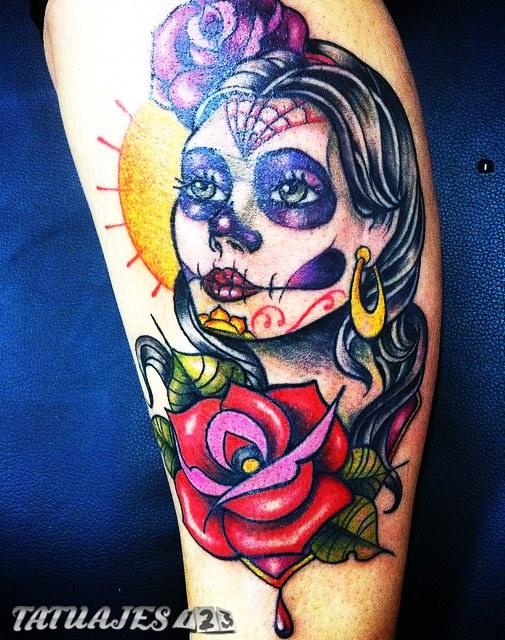 Mujer Catrina Tattoos