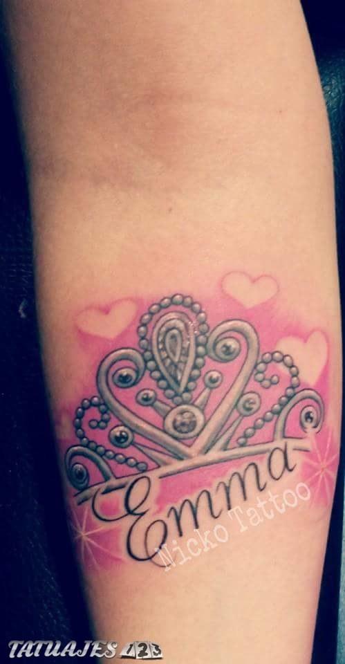 Corona De Princesa Tatuajes 123