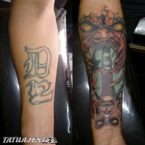 Cover up freestyle