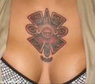 Cruz azteca