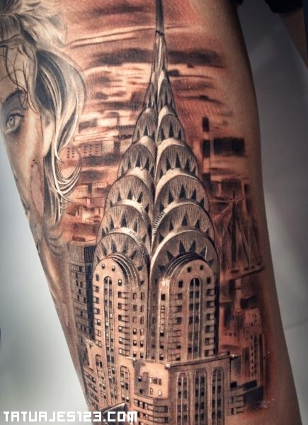 Empire State Building Outline Tattoo | www.imgkid.com ...