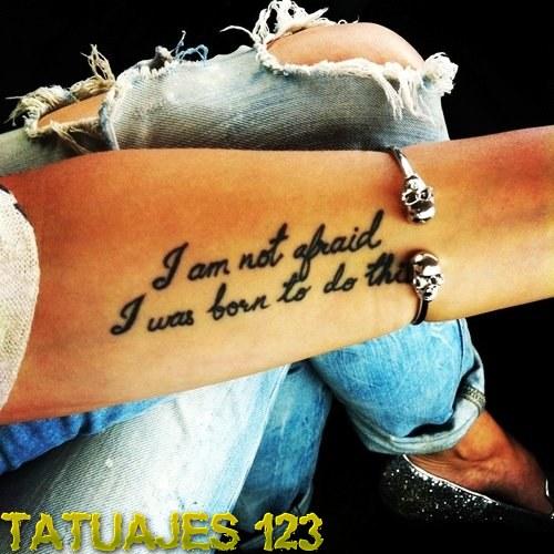 Frase Positiva Para Antebrazo Tatuajes 123