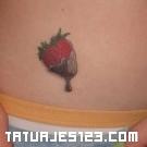 Tatuaje de fresas