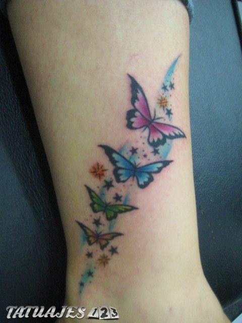 Significado De Tatuajes De Mariposas Tatuajes 123