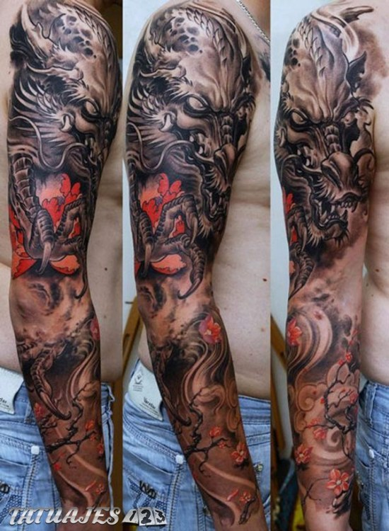 Increibles Tatuajes Para El Brazo Tatuajes 123