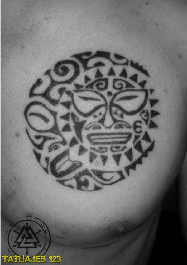 Tatuaje Maori Sol Imagui - Soles-maories