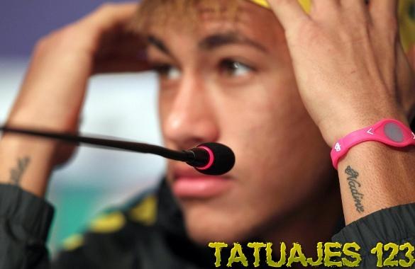 Fotos de tatuajes de Neymar. neymar tattoo muneca