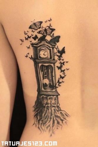 Reloj de pndulo  Tatuajes 123