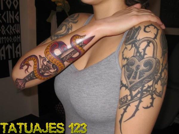 Significado de tatuajes de serpientes