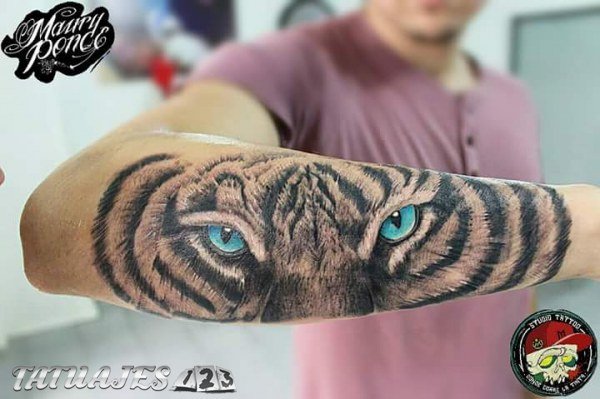 Tattoo tigre