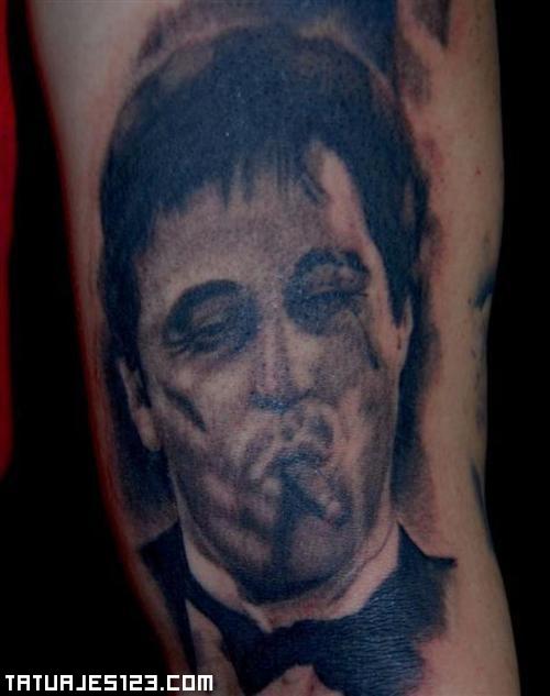 Tatuaje de Tony Montana
