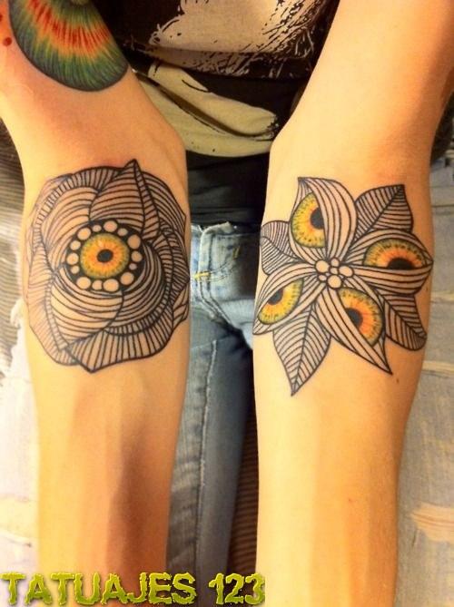 Flores Originales Tatuajes 123