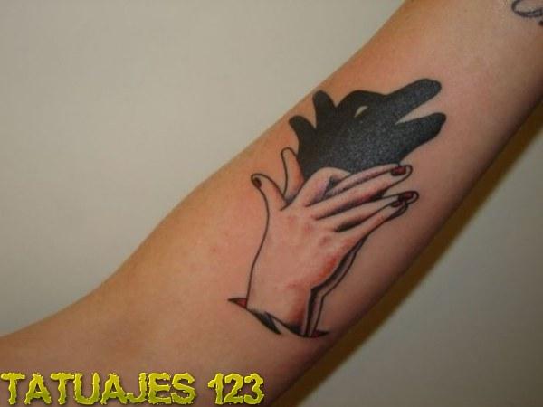 Tatuaje Sombras Chinescas Tatuajes 123