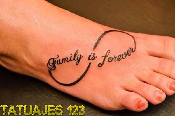 family is forever tatuajes 123. Black Bedroom Furniture Sets. Home Design Ideas