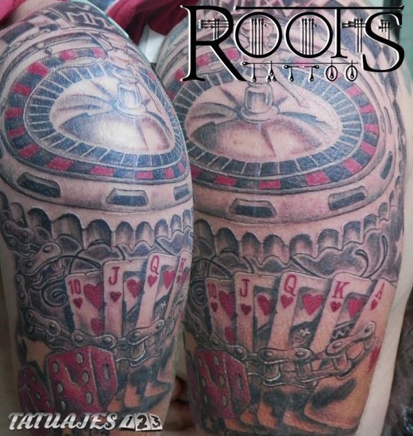 Tatuaje juegos de azar