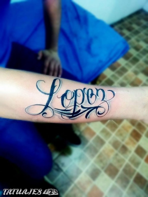 Tatuaje lopez