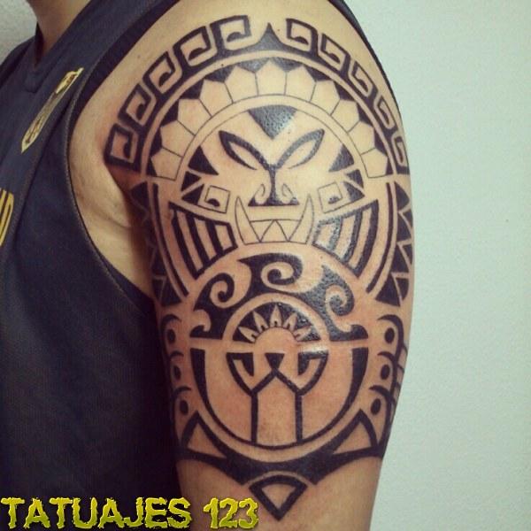 Diseo maori Tatuajes 123