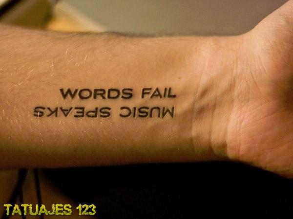 Tatuaje la música habla