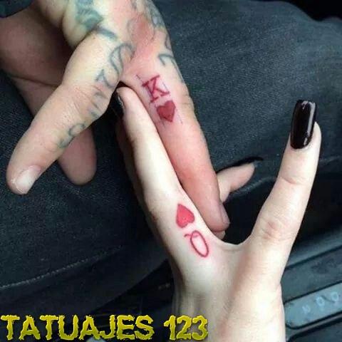 Tatuaje rey y reina