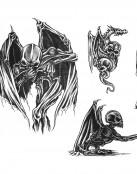 Diseños de esqueletos ángeles