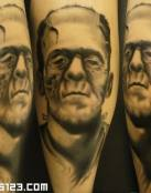 Tatuaje Frankestein