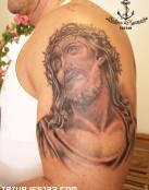 Jesús y la corona de espinas