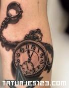 Un reloj llavero