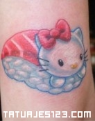 Sushi de Hello Kitty