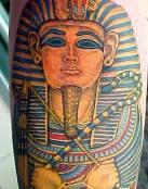 Tatuaje de un faraón