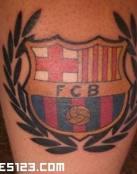 Tatuaje del Barcelona