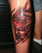 Tatuaje del diablo