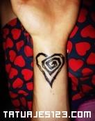 Corazón en espiral