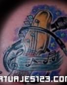 Tatuajes de bajos eléctricos
