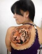 Un tigre de lo más realista