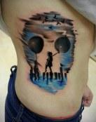¿Qué ves en el tatuaje?