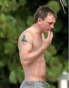 Tatuaje de Daniel Craig