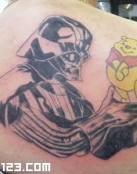 Darth Vader y Winie de Poo