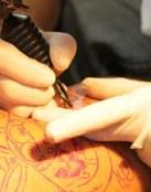 Zonas más dolorosas al tatuarse