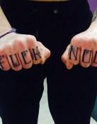 Fuck noob en las manos