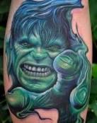 Hulk transformación