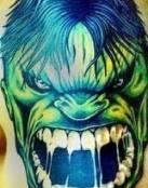 Hulk su cara