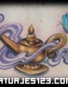 Lampara mágica