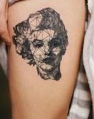 Tatuaje de Marilyn visto de otra manera
