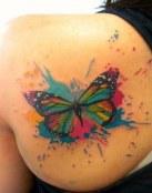 Los tatuajes acuarela, una explosión de color