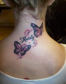 Mariposas en la nuca con nombre